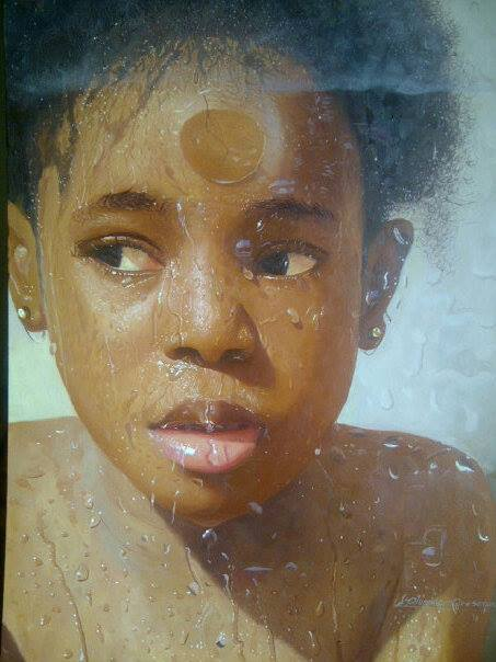 Nigerian Artiste ORESEGUN OLUMIDE of Yabatech is ART It Again